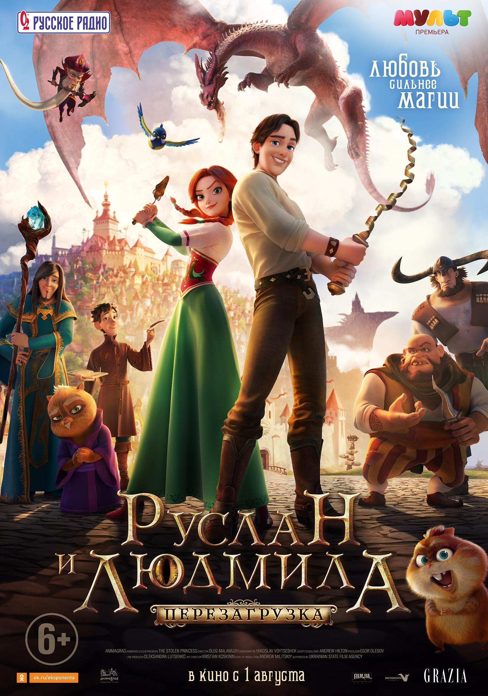 Постеры мультфильмов на русском