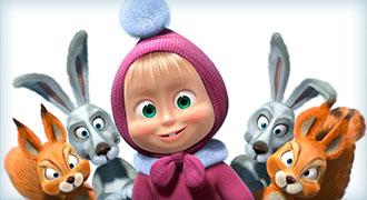 Русский мультсериал «Маша и Медведь» добился большой популярности в Италии
